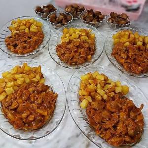 طرز تهیه خوراک سنگدان مرغ با قارچ با طعم بسیار عالی