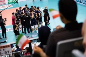 ملی پوشان والیبال تسلیم نشدند و جنگنده بازی کردند