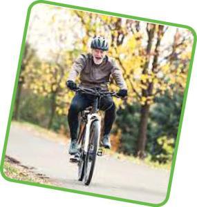 فواید دوچرخه سواری برای سالمندان