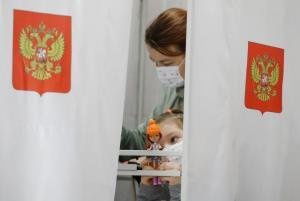 پیروزی حزب حاکم در انتخابات پارلمانی روسیه