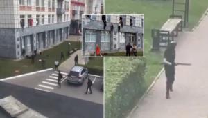 حمله مسلحانه به دانشگاهی در روسیه