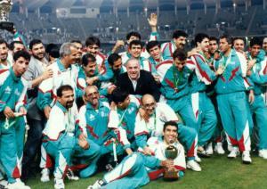 عکسی تاریخی از تیم ملی فوتبال ایران