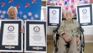 خواهران ژاپنی رکورد مسنترین دوقلوهای روی زمین را شکستند