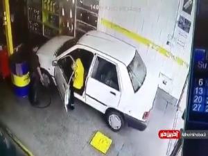 داستان تکراری ورود پر حادثه خودرو به تعویض روغنی!