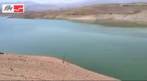 کاهش قابل توجه ذخیره آب سد اکباتان همدان