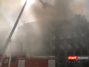 هتلی در کربلا دچار آتشسوزی شد