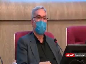 وزیر بهداشت: گاهی در برنامه های تلویزیون مطالبی برای درمان کرونا مطرح می شود که خنده دار است