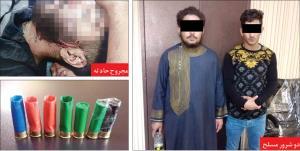دستگیری دو شرور مسلح پای بساط مواد مخدر