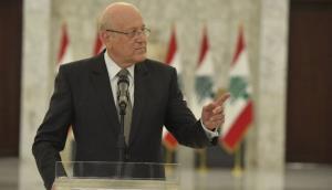 دیدار نخستوزیر لبنان با ماکرون
