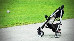توقف نوزاد خوش شانس در یک قدمی مرگ