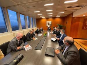 جزئیات دیدارهای رئیس سازمان انرژی اتمی با گروسی و رئیس شرکت