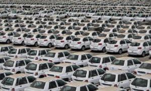 زمینگیر شدن ۱۴۰ هزار خودروی ناقص در پارکینگ خودروسازان