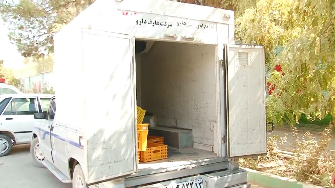 دستگیری سارقان خودروی حمل دارو در فلاورجان