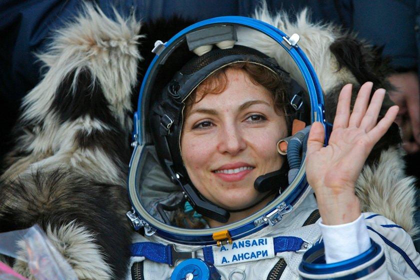 نگاه سینما به انوشه انصاری، اولین زن گردشگر فضایی جهان