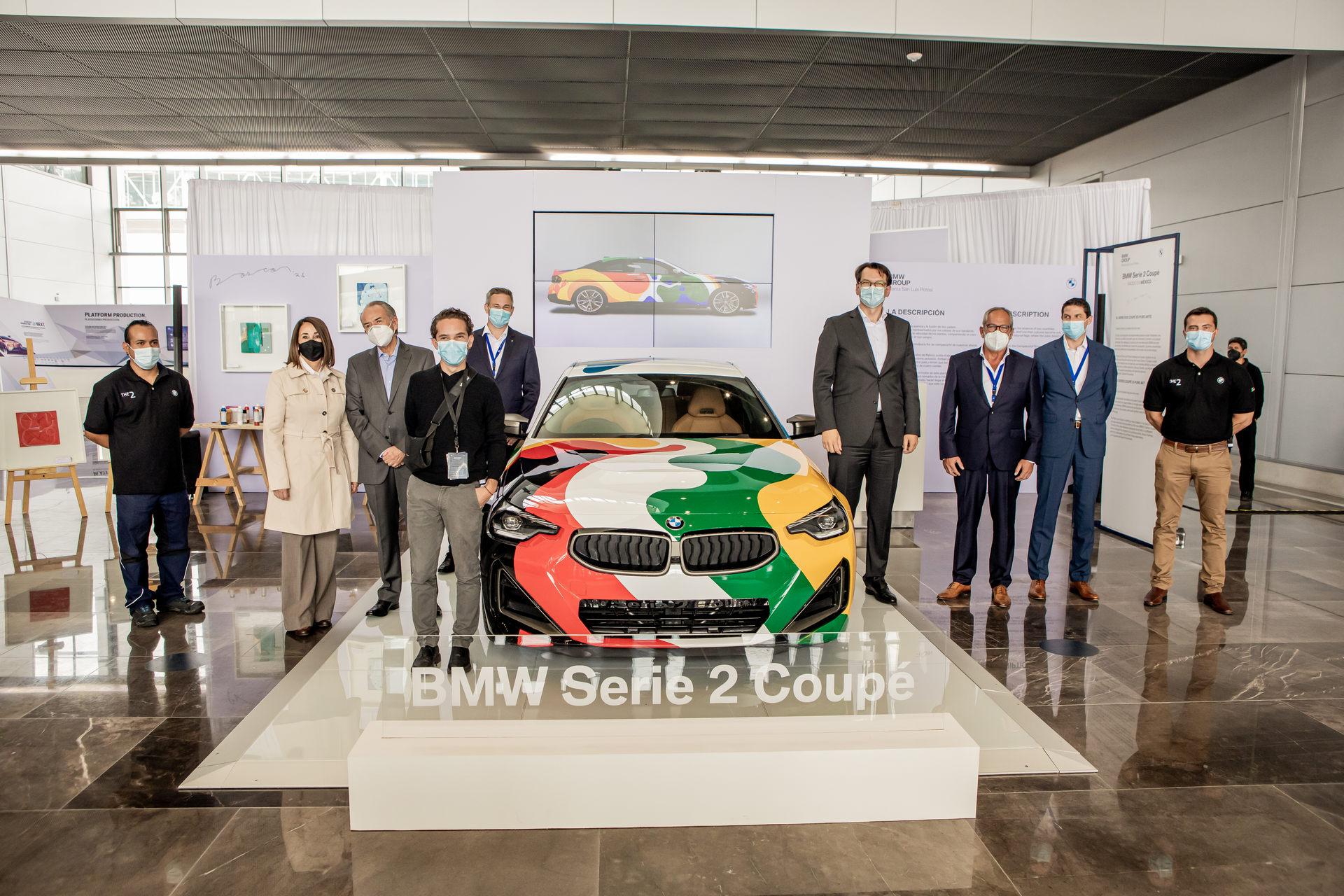 خودروی کوپه BMW M240i در مکزیک، به یک اتومبیل هنری تبدیل شد!