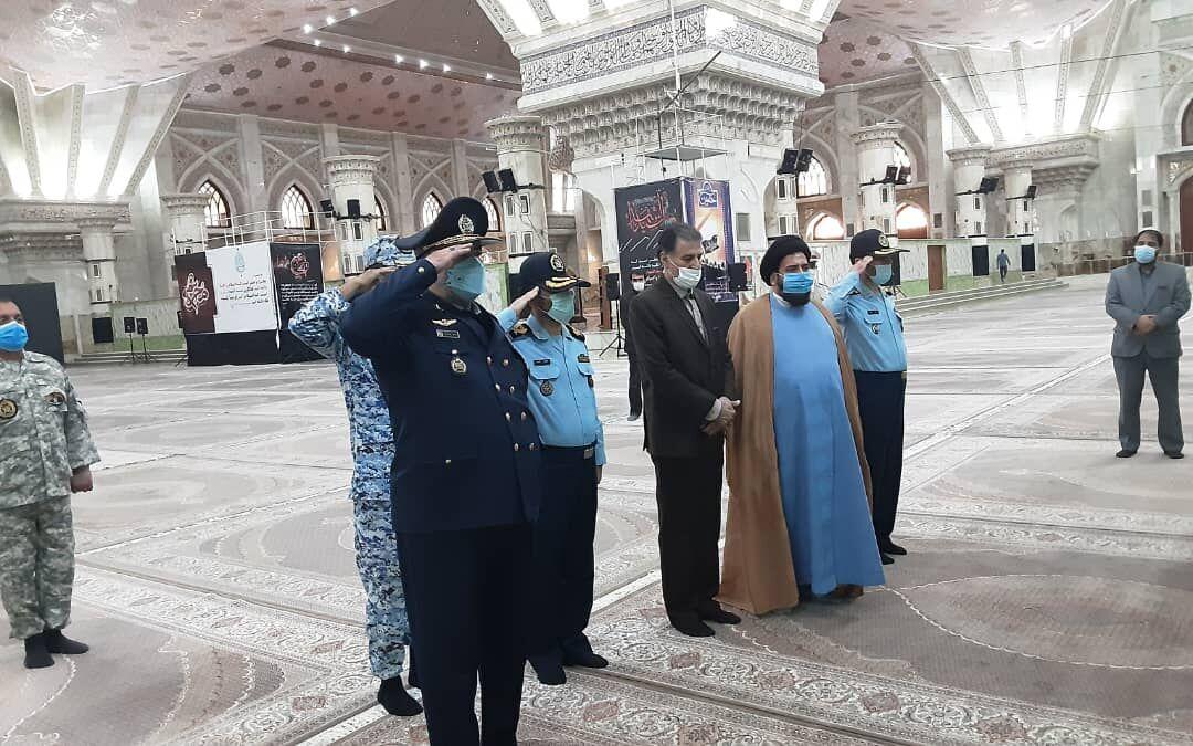 تجدید میثاق فرمانده جدید نیروی هوایی ارتش با آرمانهای امام (ره) و شهدا