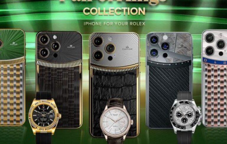 شرکت Caviar از مدلهای لوکس آیفون ۱۳ پرو رونمایی کرد