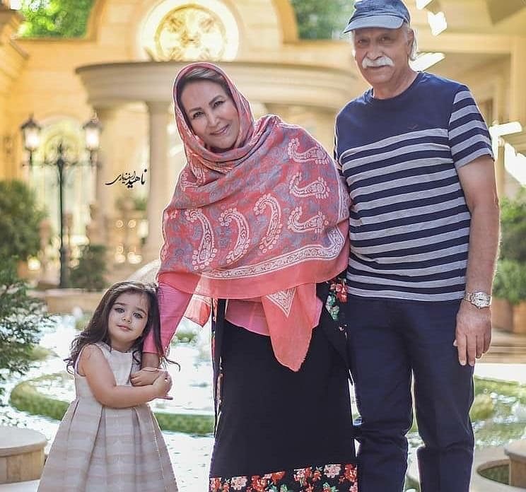 چهره ها/ تصاویری از محمود پاک نیت و نوه زیبایش هانا
