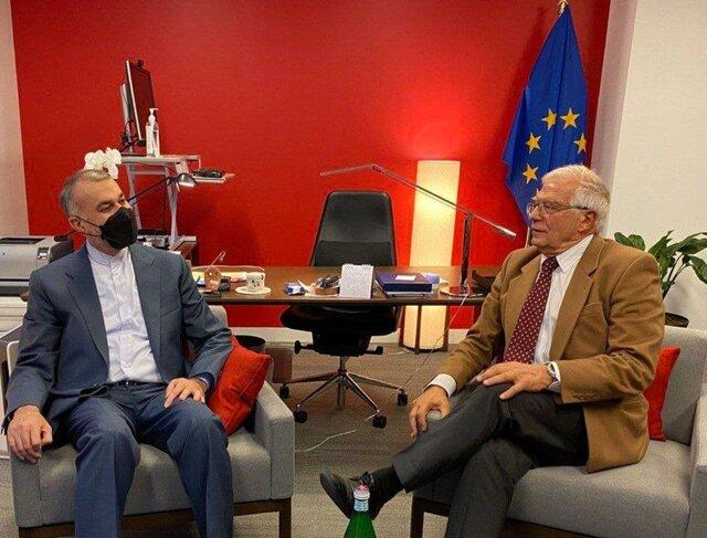 اظهارات مهم امیرعبداللهیان خطاب به بورل درباره برجام: مذاکرات را از سر میگیریم