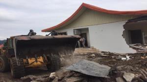 تخریب ویلای غیرمجاز این بار در سوادکوه شمالی