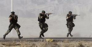 تیراندازی تکاوران نیروی زمینی ارتش و پشیمانی خانم مجری از پیشنهاد سربازی خانم ها!