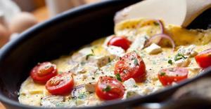 «املت سیامزگی» خوشمزه با پنیر سنتی گیلانی