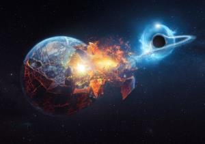 احتمال برخورد یک سیاهچاله با زمین چقدر است؟