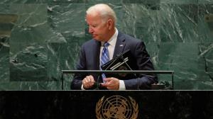 سناتور آمریکایی: سخنرانی بایدن در سازمان ملل شرم آور بود