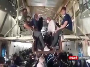 سفر موکبداران به عراق با پرواز باری!