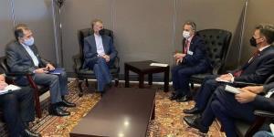 گلایه امیرعبداللهیان از آمریکا در دیدار با وزیر خارجه سوئیس