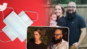 اخراج زوج جوان از رستورانی در آمریکا بخاطر ماسک زدن!