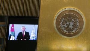 پادشاه اردن: باور داریم فرصت بزرگی برای جهان بهتر هست