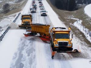 ایدهای جالب برای برف روبی جادهها