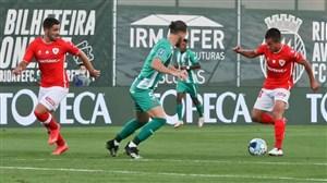 لیگ کاپ پرتغال/ تساوی سانتاکلارا و ریوآوه