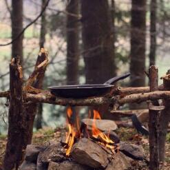 آشپزی جذاب در دل طبیعت