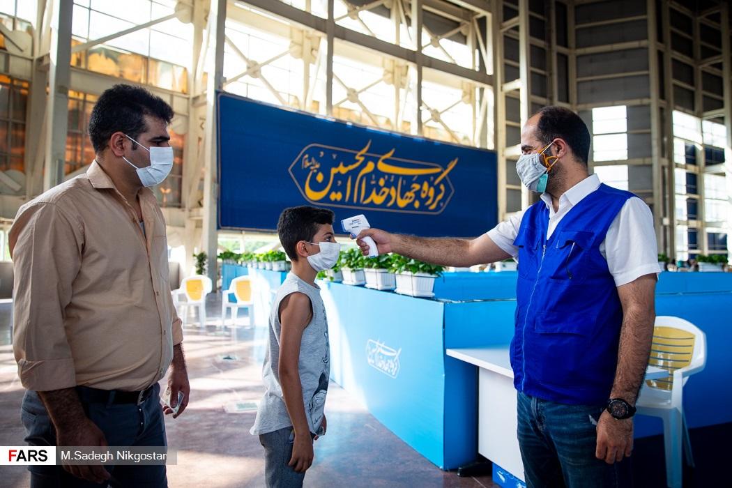 عکس/ واکسیناسیون بدون محدودیت سنی در بوستان گفتگو
