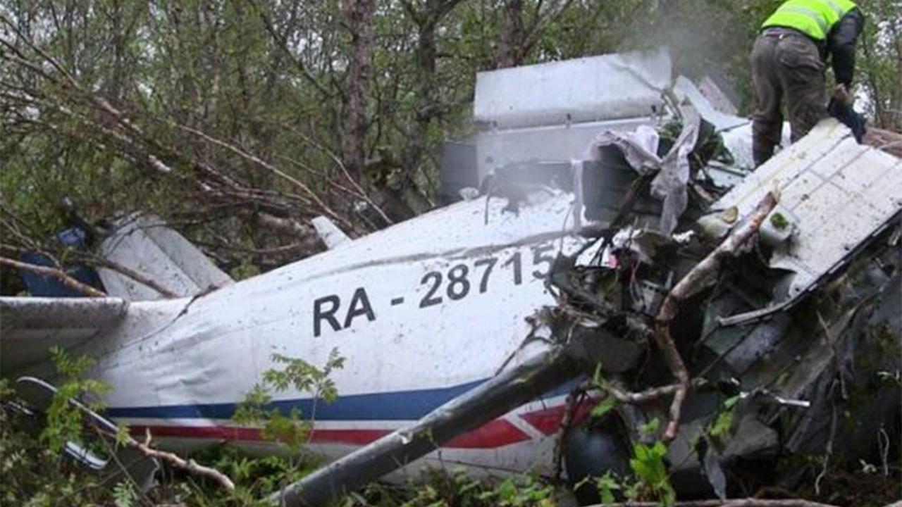 سقوط هواپیمای روسی با ۶ سرنشین