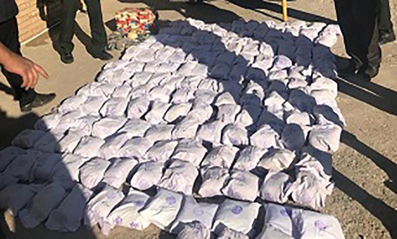 کشف نزدیک به ۱۸۰۰ کیلوگرم مواد مخدر در مرزهای شرقی