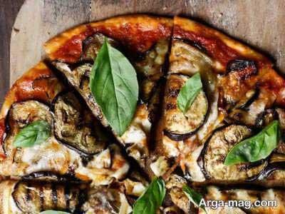 طرز تهیه پیتزا بادمجان خوشمزه با ۲ روش پخت