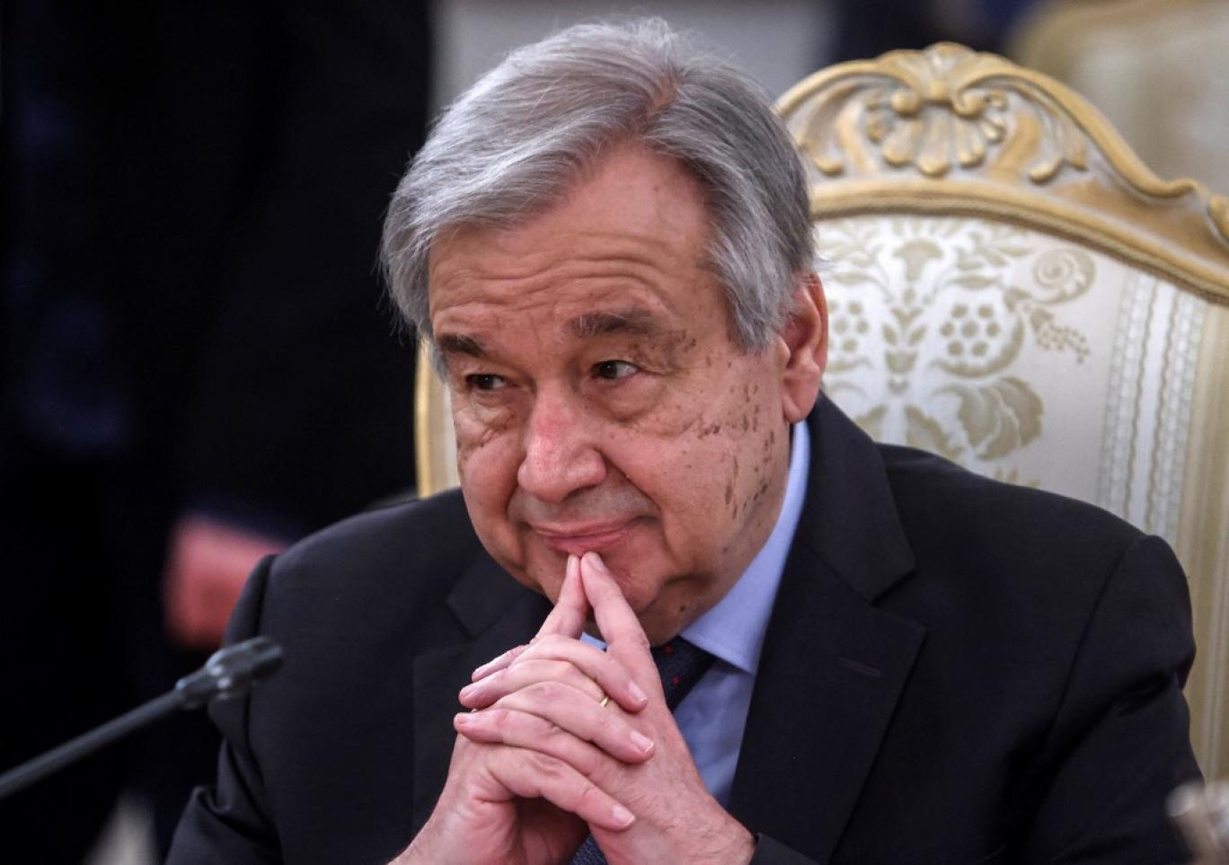 دیدار وزرای خارجه اعضای دائم شورای امنیت با گوترش