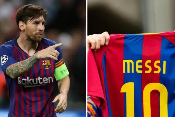 بعد از مسی پرفروشترین پیراهن بارسلونا متعلق به چه کسی است؟