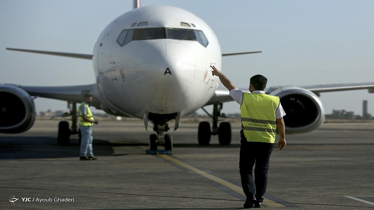 نقص فنی هواپیما علت تاخیر پرواز لار_دبی