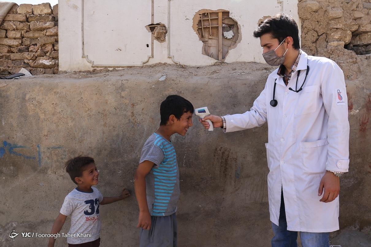 حضور پزشکان جهادی بسیج در حاشیه پایتخت