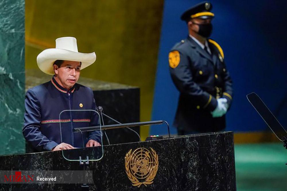عکس/ هفتاد و ششمین نشست سازمان ملل متحد