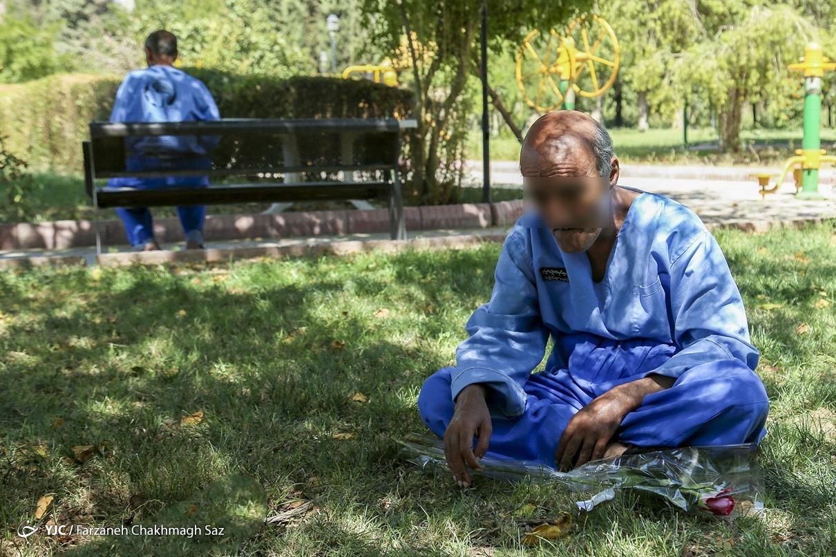 عکس/ حال ناخوش جانبازان اعصاب و روان شیراز
