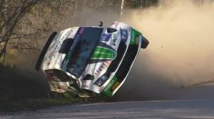 مهارت باورنکردنی رانندگان در مسابقات رالی