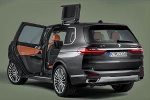 دربهای پروانهای، تازه ترین نبوغ BMW برای شاسی بلندها!