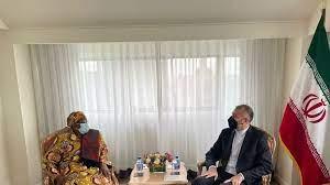 دیدار وزیر امور خارجه ایران با همتای نامیبیایی در نیویورک
