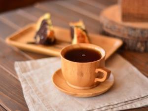 ساخت فنجان معلق از چوب و مداد رنگی