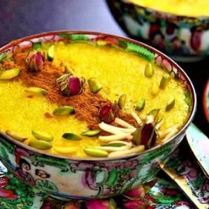 روش تهیه «شله زرد زعفرانی» خوش طعم و خوش عطر